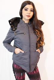 WO-605 Fairy Road Warrior Reversible Twill Jacket