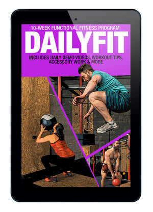 (PRESALE) DailyFit: 10-Week Functional Fitness Program