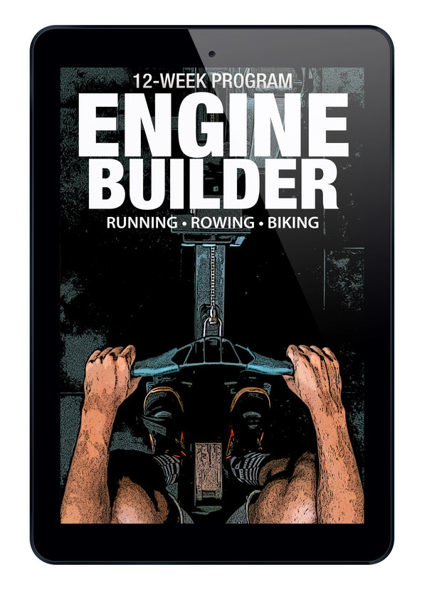 Engine Builder: A 12-Week Endurance Program (Instant Digital Download)