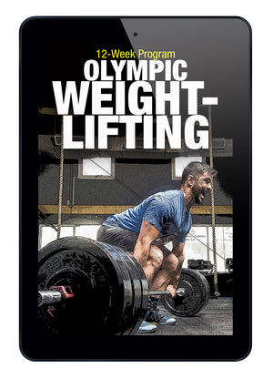 12-Week Olympic Weightlifting Program (Instant Digital Download)