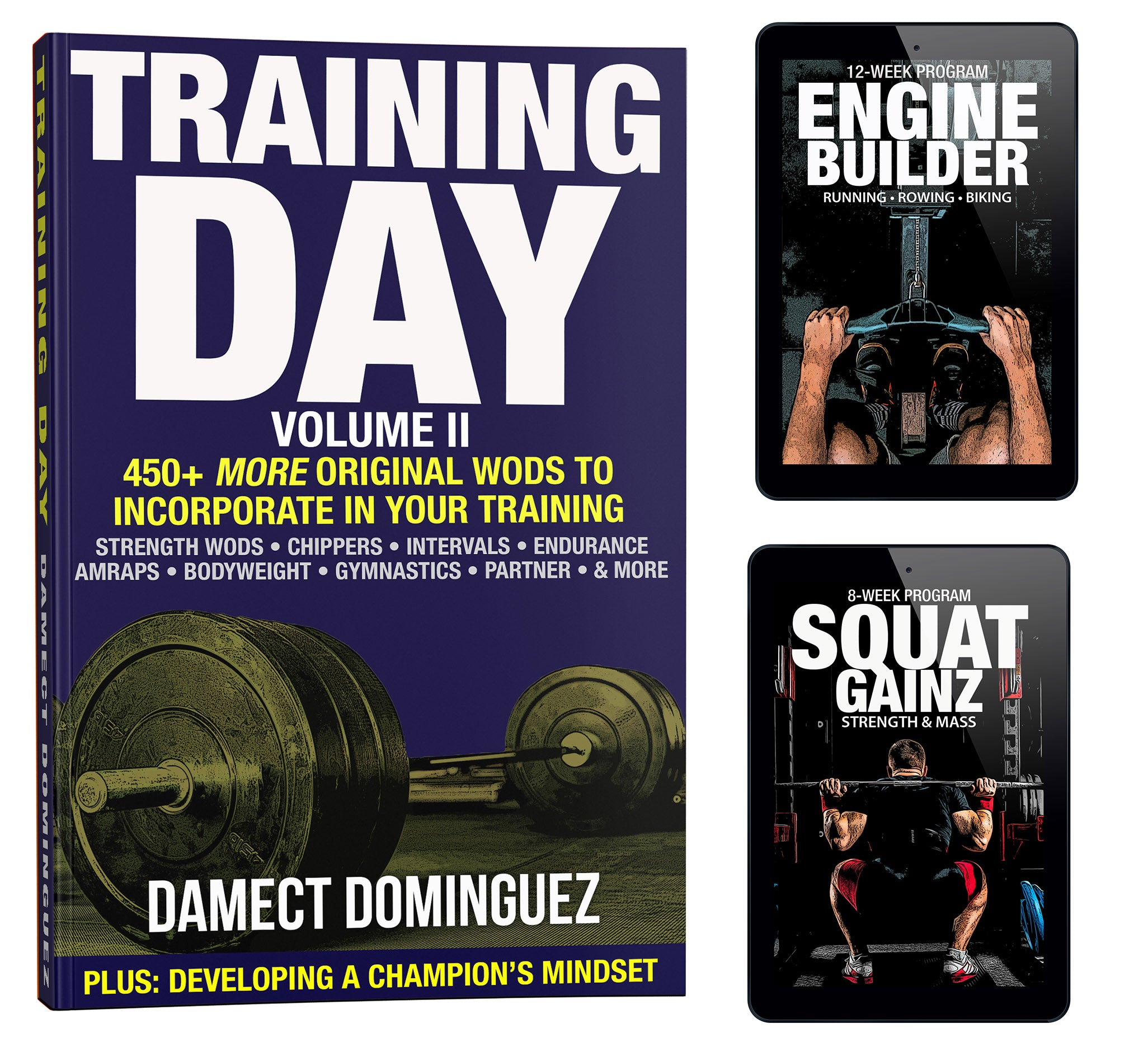 Training Day Bundle #3: Training Day Volume II + Squat & Endurance Programs
