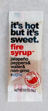 Sachets of Fire Syrup® Jalapeño Simple Syrup