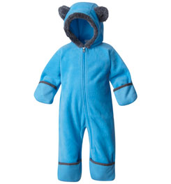 COLUMBIA TINY BEAR II FLEECE BUNTING - INFANT