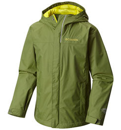 COLUMBIA WATERTIGHT RAIN JACKET - BOY'S