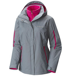 COLUMBIA BUGABOO OMNI-HEAT INTERCHANGE 3-IN-1 JACKET - WOMEN'S
