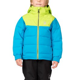 SPYDER MINI CLUTCH DOWN JACKET - BOY'S