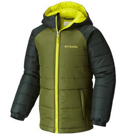 COLUMBIA TREE TIME PUFFER JACKET - BOY'S
