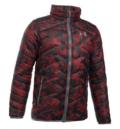 UNDER ARMOUR UA COLDGEAR REACTOR JACKET - BOY'S