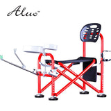 aluminium alloy height adjustment anti sway fishing chair multifunctional portable folding stool fishing supplies OEM