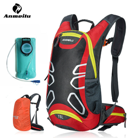 ANMEILU 2L Water Bag Waterproof Sport Cycling Hydration 15 Backpack Climbing Camping Bags Camelback Bladder Mochila Ciclismo