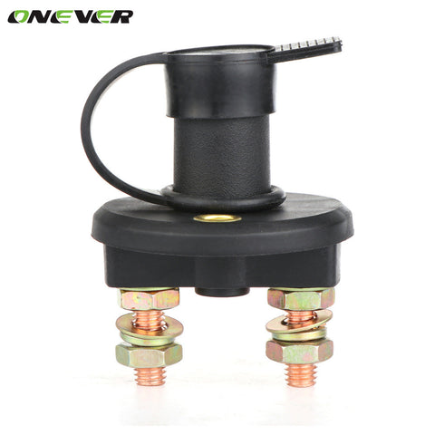 Onever New Car Boat Truck Battery Isolator  Disconnect Cut OFF Power Kill Switch  12V/24V