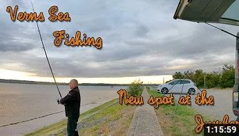 VERNS SEA FISHING | NEW SPOT AT HUMBER BRIDGE