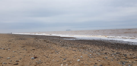 Beach fishing on the East Yorkshire coast