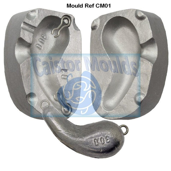 Ear Drop  Lead Weight  Mould 300g