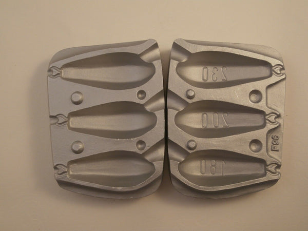 Mould, Hexagonal  Lead Mould Weight 180/200/230gms, sea,boat, beach,fishing,cod