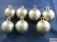 Cannon Ball Boat Leads Weights sinkers. Fast Down 10 or 8oz, Wreck Fishing - Caistor Tackle