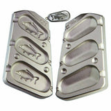 3 in 1 3D CARP IMAGE LEAD CARP FISHING WEIGHT  MOULD,