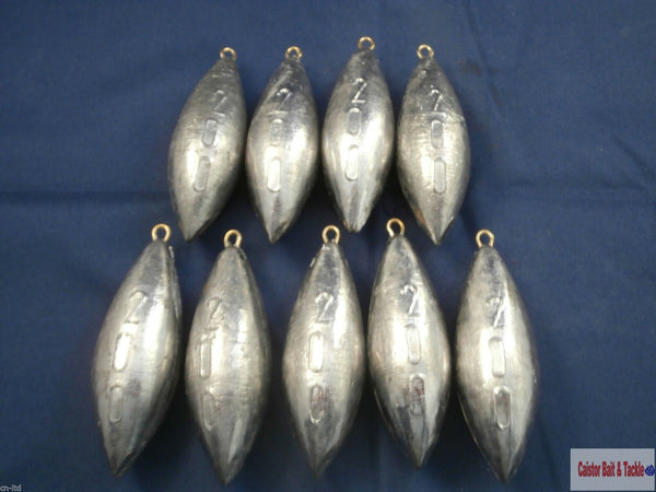 Aero Lead Beach Bomb, various sizes for boat,pier,beach,fishing,