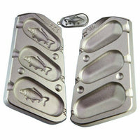 3 in 1 3D CARP IMAGE LEAD CARP FISHING WEIGHT  MOULD, - Caistor Tackle
