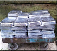 lead ingots for fishing weights, sinkers, toy soldiers, pre cleaned  Bulk sales