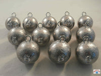 Cannonball weights 4oz, 5oz and 6oz. Quick drop for jetty, pier and boat fishing