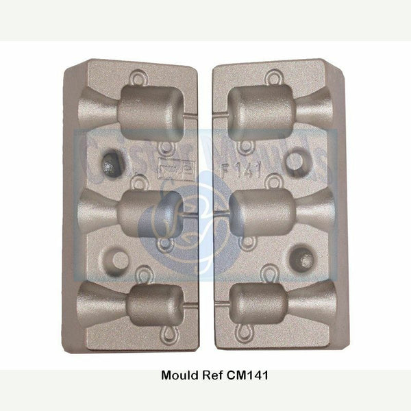 Bobbin Head Spinner mould - Caistor Tackle