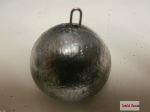 Cannon Ball Lead Quick Drop Sea Fishing Weight Wreck Boat Cod ling 5 x12oz lead