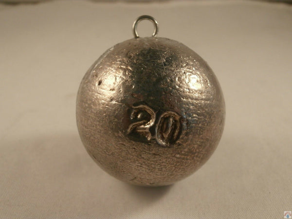 Cannonballs 20oz x 10 Cannon Ball quick Drop Fishing Weight, Wreck and Reef Sink