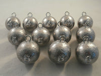 Cannonball weights 4oz, 5oz and 6oz. Quick drop for jetty, pier and boat fishing - Caistor Tackle