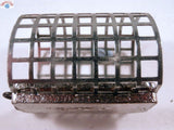 10 Metal Cage Feeders with  loop and #8 swivel, 20g, 45g, 60g, 90g Great Value - Caistor Tackle