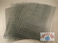 Galvanised swim feeder net, mesh. 4mm holes Easy Cut. Make your own swimfeeders - Caistor Tackle