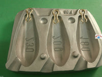 Mould, Hexagonal  Lead Mould Weight 180/200/230gms, sea,boat, beach,fishing,cod - Caistor Tackle