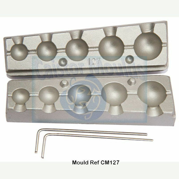 Mould for Drilled Bullet Balls Carp specimen  LRF pier and shore fishing