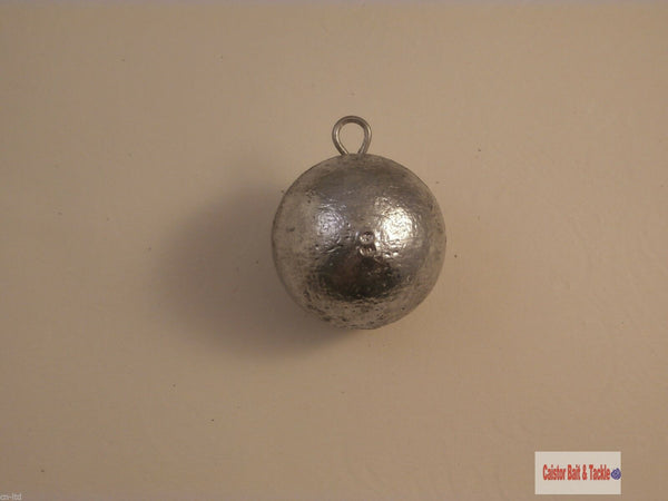 Cannon Ball Lead Quick Drop Sea Fishing Weight,Wreck Boat ,8oz Bulk Buy cod ling - Caistor Tackle