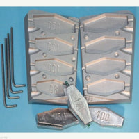 Inline Coffin Mould, river fishing, pier and jetty fishing. Excellent finish - Caistor Tackle