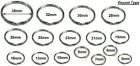 Fishing  Split Rings Many Sizes Great for fishing, gardening, hobbies etc - Caistor Tackle