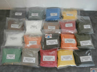 Powder paints various colours, sparkles also available - Caistor Tackle