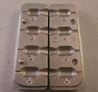 Tube Jig Aluminium Mould 4 different casts Uses VMC 5150 Hooks 2/0, 3/0 and 4/0 - Caistor Tackle