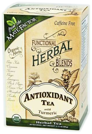 Antioxidant Tea with Turmeric Herbal Blend