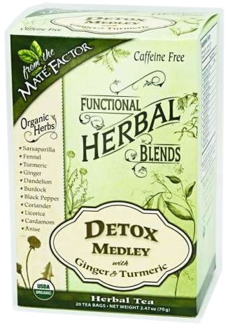 Detox Medley with Ginger and Turmeric Herbal Blend