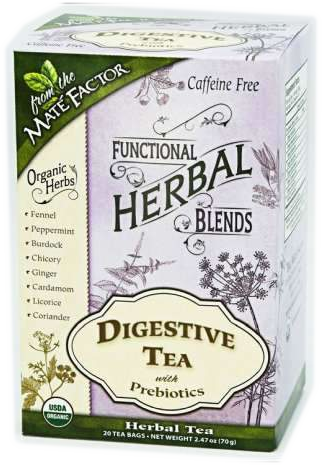 Digestive Tea with Prebiotics Herbal Blend
