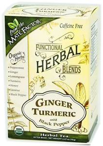 Ginger Turmeric with Black Pepper Herbal Blend