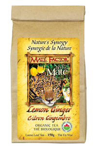 Lemon Ginger Yerba Maté 150g Loose Leaf - Organic