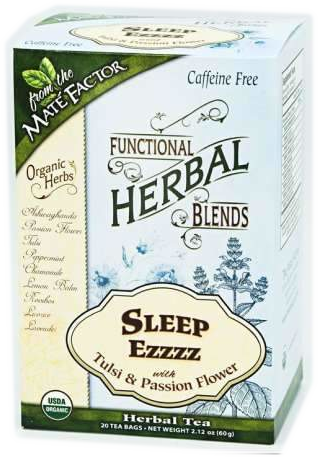 Sleep EZZZZ with Tulsi and Passionflower Herbal Blend