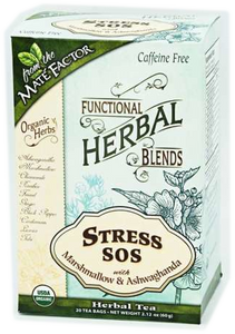 Stress SOS with Marshmallow and Ashwagandha Herbal Blend