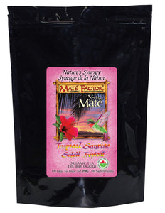 Tropical Sunrise Yerba Maté 100 Tea Bags - Organic