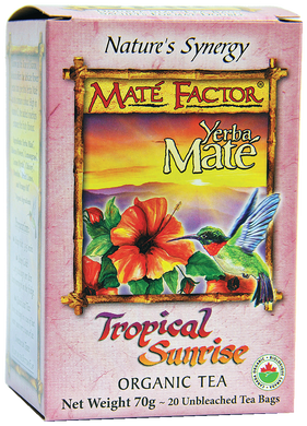 Tropical Sunrise Yerba Maté Tea Bags - Organic