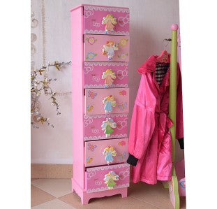 TY10026P FAIRY 7 DRAWER STORAGE