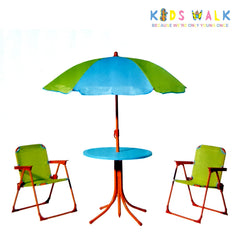 B8675 BRIERS KID'S TABLE WITH CHAIRS AND PARASOL