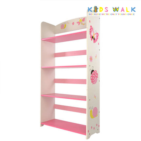 DL-003 BUTTERFLY & BUG 3 LAYER BOOKSHELF